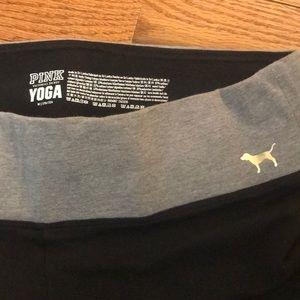 PINK Victoria's Secret Pants - PINK   Rose Gold Sequin Yoga Pants